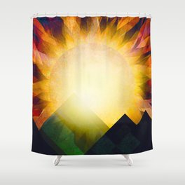 All i need is sunshine Shower Curtain