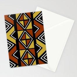 Big mud cloth tiles Stationery Cards