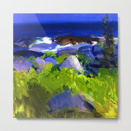 George Bellows Monhegan Island Metal Print