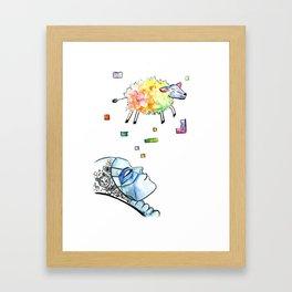 Android Dreams Framed Art Print