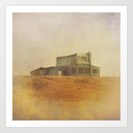 Once Upon a Time a House Art Print