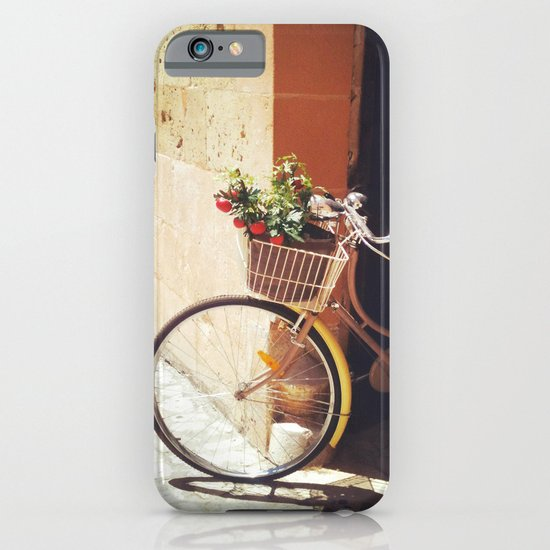 Yellow Bicycle iPhone & iPod Case