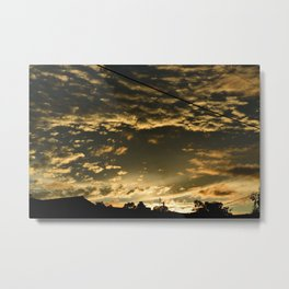 Scattered Metal Print