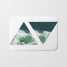Conceptual Modern Art VII Bath Mat