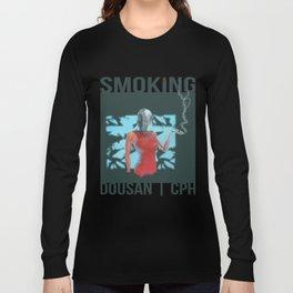 Smoking_02 Long Sleeve T-shirt