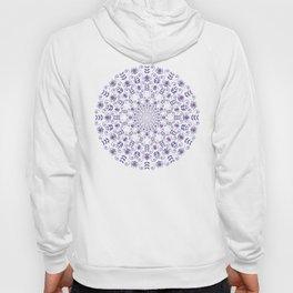 Ultraviolet spring floral  Mandala Hoody