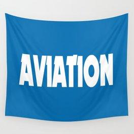 Aviation Wall Tapestry