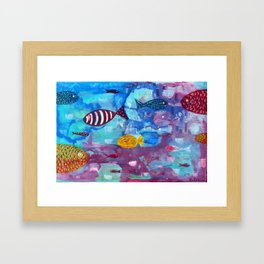 Reflexes Framed Art Print