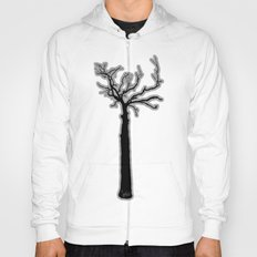 Black & White Tree's Hoody