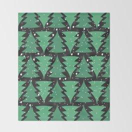 Christmas Tree Pattern Throw Blanket