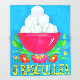 O' Rasgullea Throw Blanket
