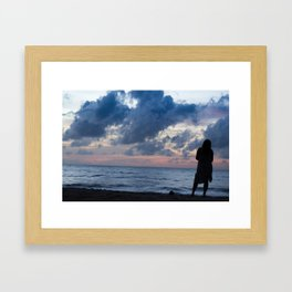 By Disillusion's Glow Framed Art Print