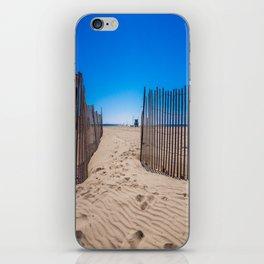 Sweat beach iPhone Skin