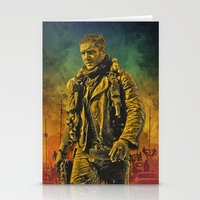 mad max Stationery Cards featuring Mad Max Fury Road by FCRUZ