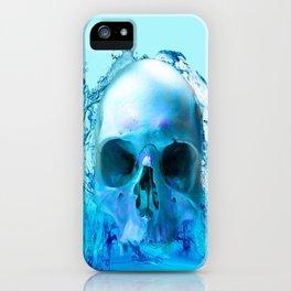 Skull in Water iPhone Case