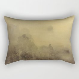 Flying With You... Hand Painted Photograph Rectangular Pillow