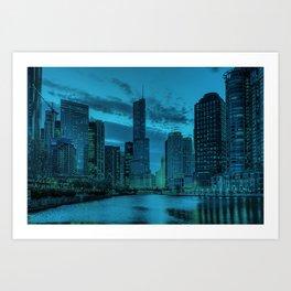 Chicago Blues 2 Art Print
