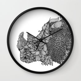 A RHINO Wall Clock