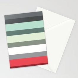Accordion Fold Series Style E Stationery Cards