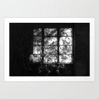 Window. Art Print