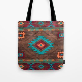 Bohemian Traditional Southwest Style Design Tote Bag