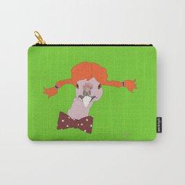 Spunky Turkey Orange Hair GB Carry-All Pouch