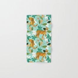 Cheetah Jungle #illustration #pattern Hand & Bath Towel
