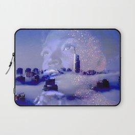 Purple portrait architecture Laptop Sleeve