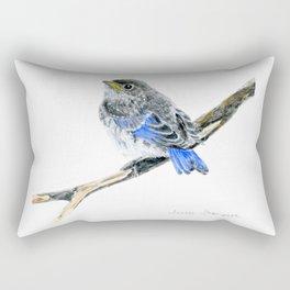 Blue Belle by Teresa Thompson Rectangular Pillow