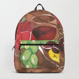 Fruit and Wine Stil life Backpack