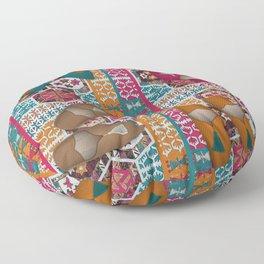 Kilim & Babouches Floor Pillow