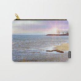 Sunset At The Beach - Tod's Point Carry-All Pouch