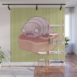 Maggie the Maggot Wall Mural