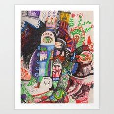 Örz Art Print