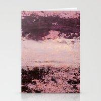 burgundy Stationery Cards featuring burgundy rose by patternization