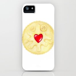 Jammie Dodger, Biscuit iPhone Case
