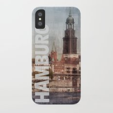 hamburg Slim Case iPhone X