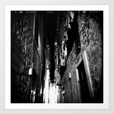 Midnight in Dubrovnik 01 Art Print