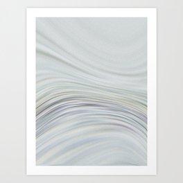 Glass and Bone Art Print