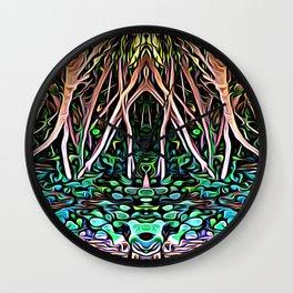 Forest Princess Wall Clock