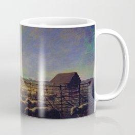 Jean-Francois Millet - The Sheepfold, Moonlight - Digital Remastered Edition Coffee Mug