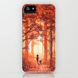 Golden October iPhone Case
