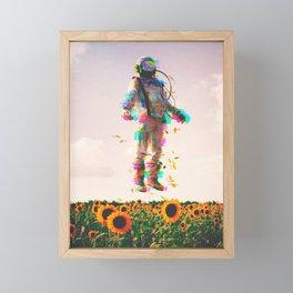 The Plain Traveller Framed Mini Art Print