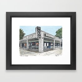 the beat, sacramento Framed Art Print