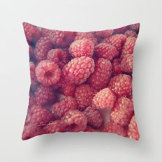Red Taste Throw Pillow