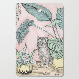 Cat Cutting Board