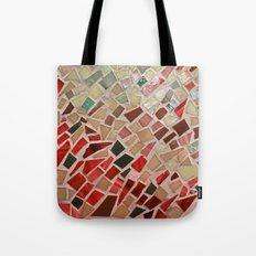 Razzle Red Mosaic Tote Bag