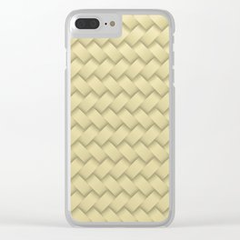 hay woven Clear iPhone Case