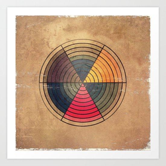 Circles C6 Art Print