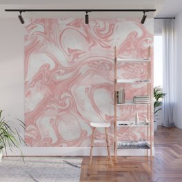 Adrift - Abstract Suminagashi Marble Series - 11 Wall Mural